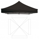 Cover 10' Square Tent - Unimprinted