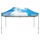 15' Heavy Duty Canopy and Frame - Full Color Dye Sublimated
