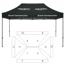 10' x 15' HD Canopy and Frame - 12 Imprint Locations