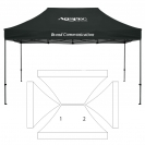 10' x 15' HD Canopy and Frame - 2 Imprint Locations