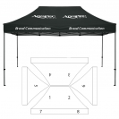 10' x 15' HD Canopy and Frame - 8 Imprint Locations