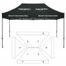 10' x 15' HD Canopy and Frame - 9 Imprint Locations